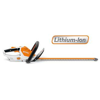 STIHL HSA 45 Cordless Hedgetrimmer for Smaller Gardens with Integrated Battery & Charger