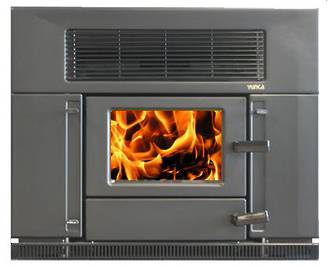 Yunca Hybrid Multi-Fuel Insert Fireplace