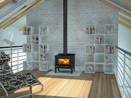 Yunca Hobson Fireplace