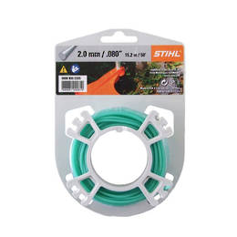 STIHL Round Nylon 2mm Green - 15.3m