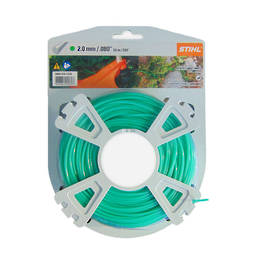 STIHL Round Nylon 2mm Green - 62m