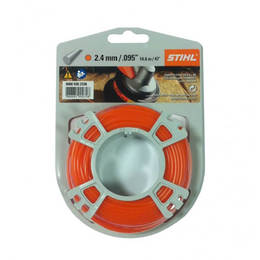 STIHL Round Nylon 2.4mm Orange - 14.6m