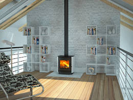 Yunca Oscar Fireplace