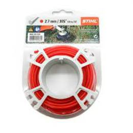 STIHL Round Nylon 2.7mm Red - 9.8m