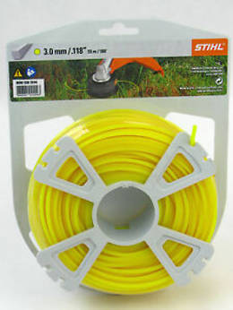 STIHL Square Nylon 3mm Yellow - 55m