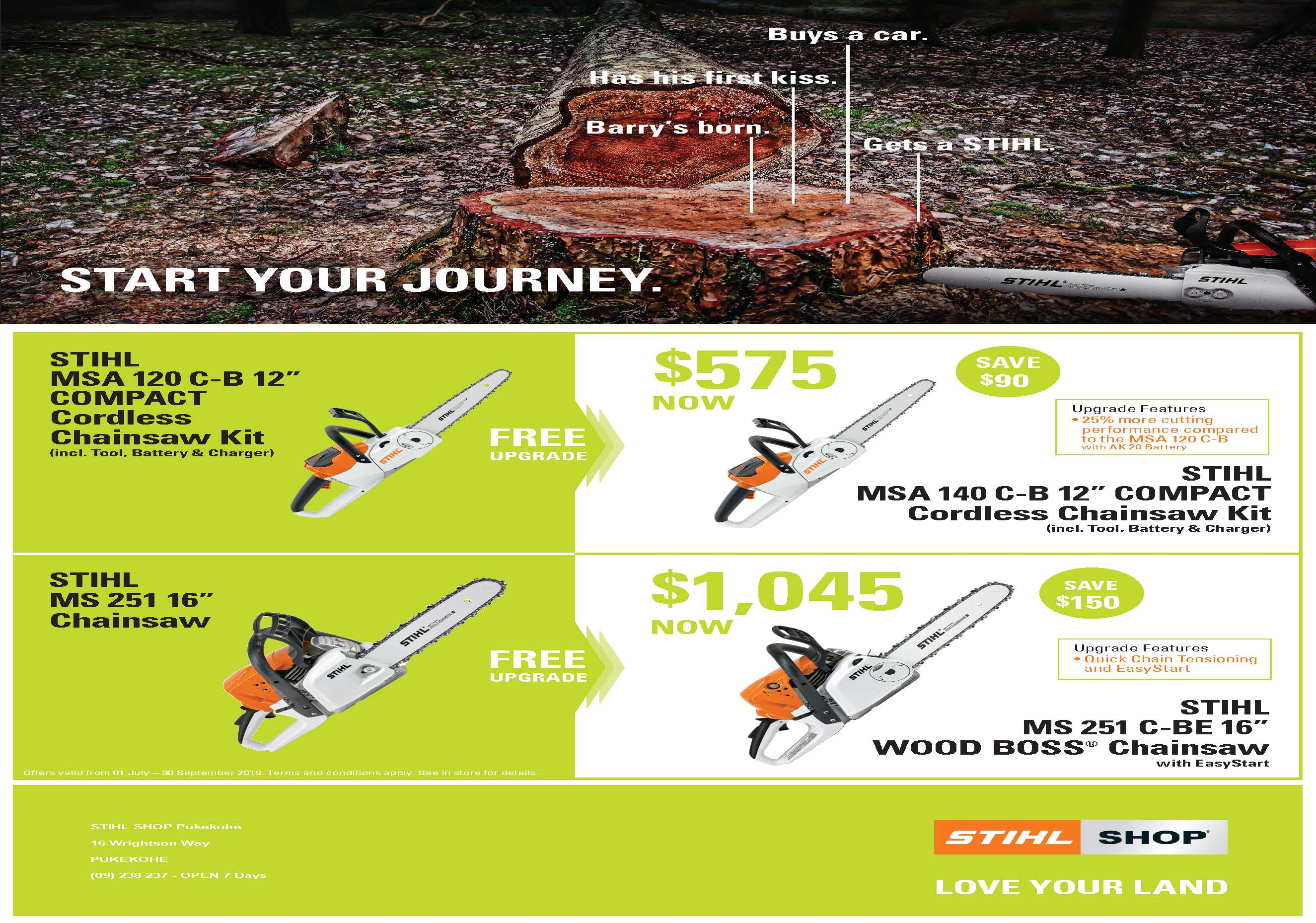 STIHL SHOP Pukekohe for Chainsaws Fireplaces Weber BBQs in Auckland NZ