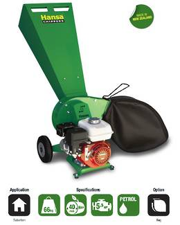 Hansa C4 Brush Chipper