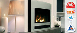 Rinnai Arriva 750 Curved Glass Gas Fire